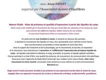 Stage de Body-Mind Centering® à Montrottier - Ouest Lyonnais