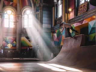 Igreja abandonada vira um sensacional SkatePark na Espanha!