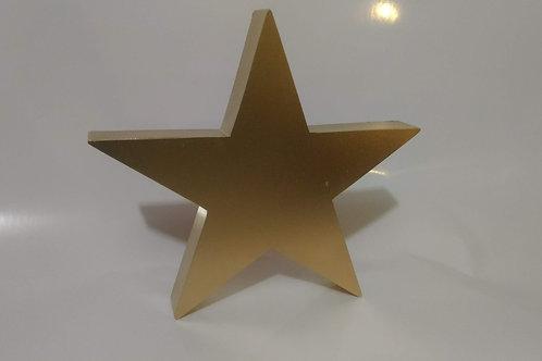 Estrela de Metal para Decoração