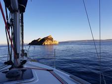 Port Cros, au petit matin...