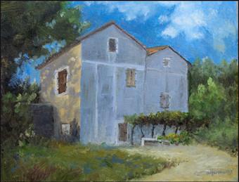 Old house at Kukci, Croatia