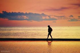 Walk on the sand
