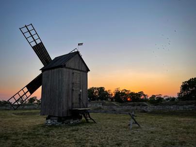 Old windmill in Kuressaare