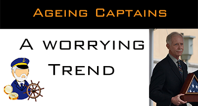 Is the age of the ageing Captain over ? I sincerely hope not for the greater good of our Industry.