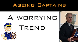 Ageing Captains, a worrying trend.