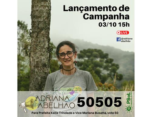 Lançamento de campanha: 50505 - Adriana Abelhão para vereadora em Itapecerica da Serra