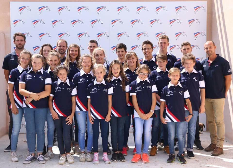 2017 la sélection Équipes de France