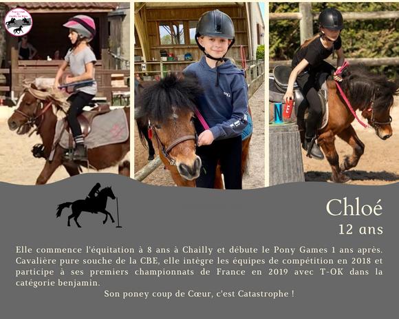 Chloé 12 ans cavalière de pony games