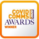 Who won the CovidComms Awards?