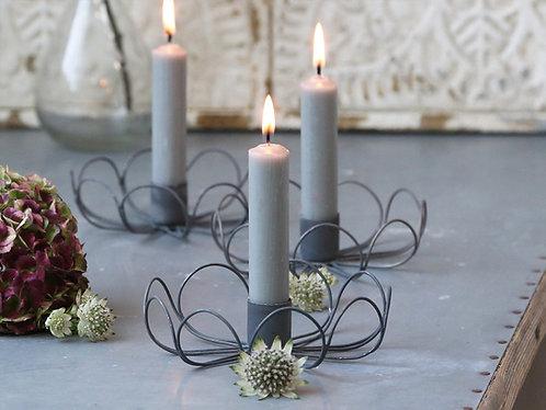 Zinc candlestick