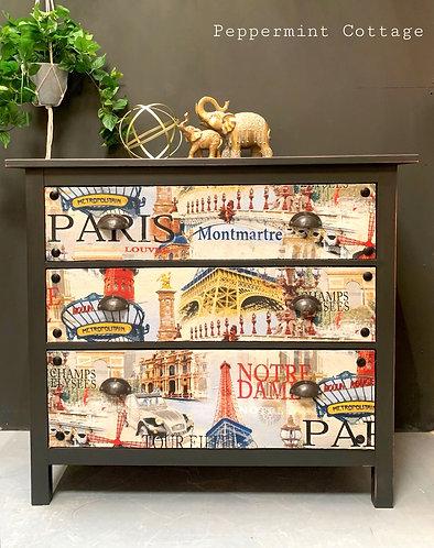 Large set of three drawers - PARIS