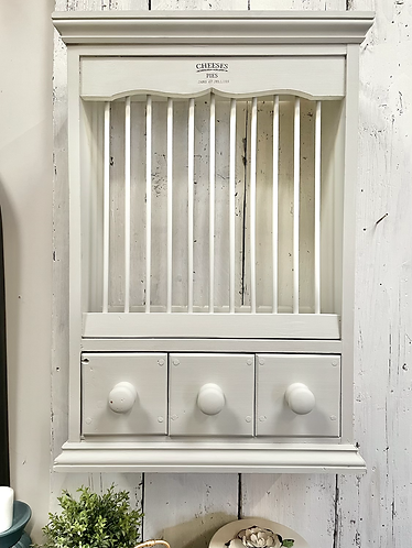 Plate Rack with 3 drawers