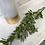 Thumbnail: Opaque white & gold glass vase
