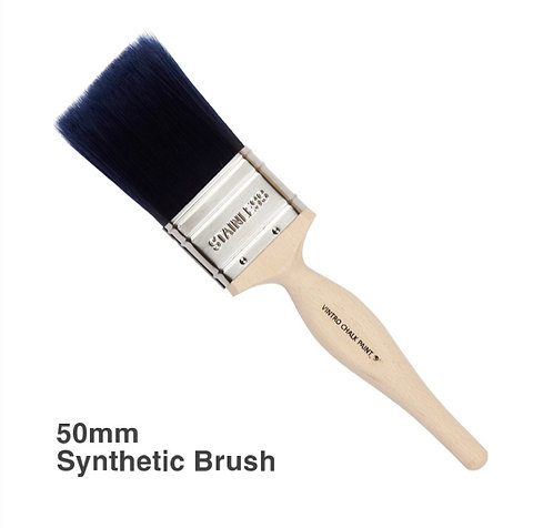 Flat synthetic brush - 50mm