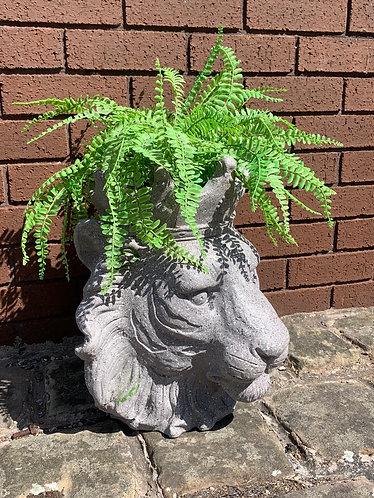 Lion planter