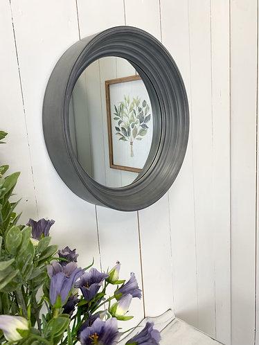 Round Grey mirror