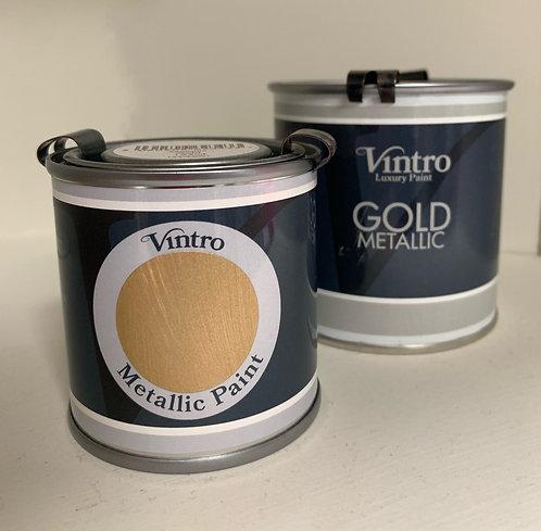 Vintro Metallic Paint - GOLD 250ml