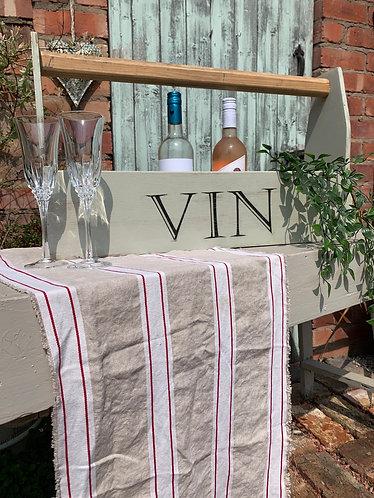 Extra long Wine trug 'VIN'