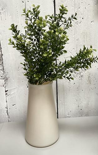 RECYCLED Vase in Pearl - Medium