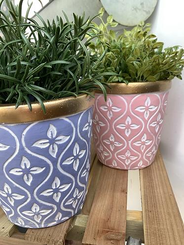 Plant pot - BLUE