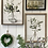 Thumbnail: Picture & frame - green foliage tied