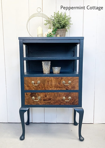 Unusual Two drawer cabinet