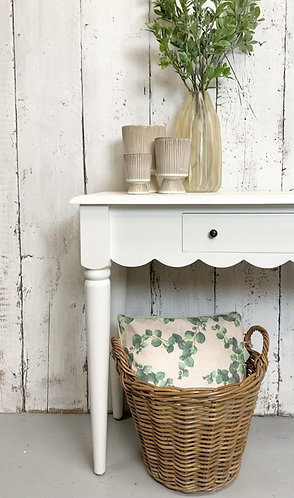 Console table with drawer