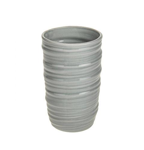 Pale grey vase SMALL