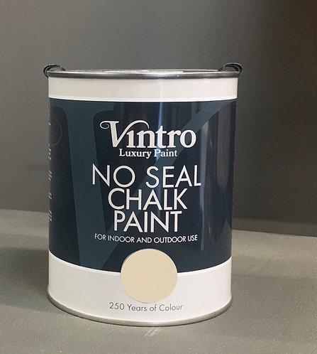 Vintro NO SEAL chalk paint OLD LACE