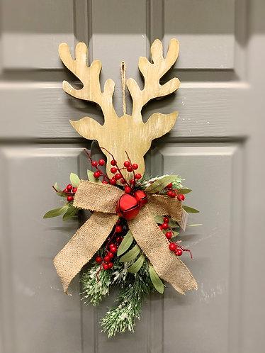 Hanging Deer christmas decoration