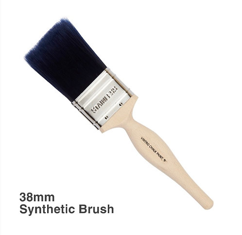 Flat synthetic brush - 38mm