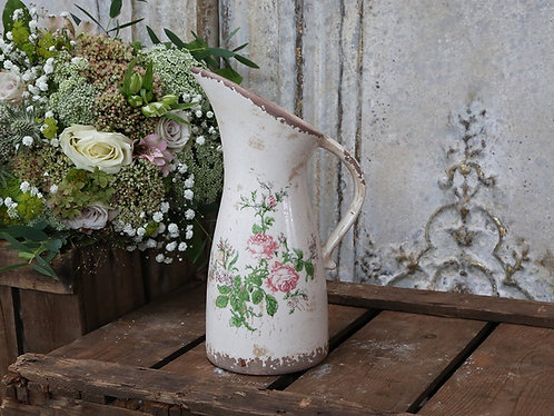 Toulouse jug with roses