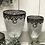 Thumbnail: Mercury glass goblet decorative vase - large