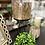 Thumbnail: Gold leaf pot on black stand