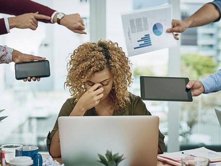 Sur une échelle de 1 à 10, quel est selon vous votre niveau de stress ?