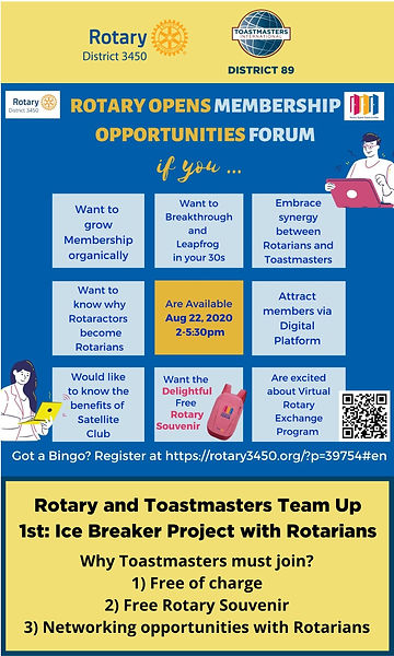 Rotary Opens Membership OPportunities Fo