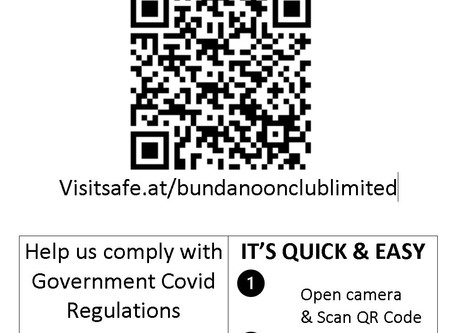 Scan and be COVID Safe