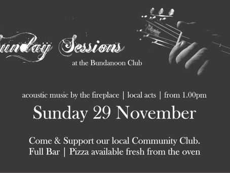 Sunday Sessions -29th November