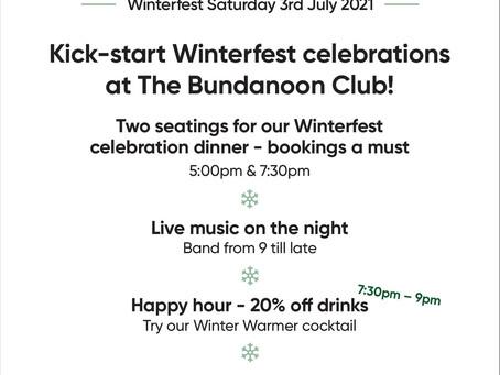 Winterfest Opening Night Dinner
