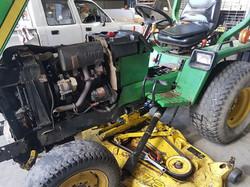 Tractor mower reapirs
