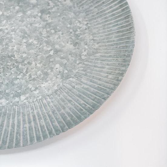 Corrugated Platter
