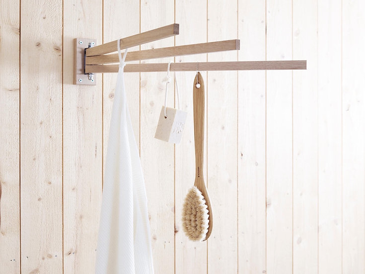 Oak Towel Drier