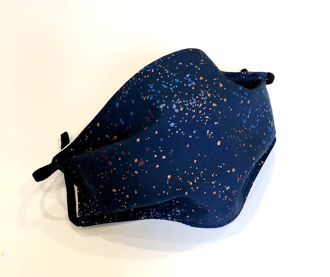 Navy Speckle