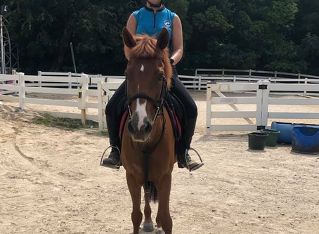 Heidi is back for her lesson!