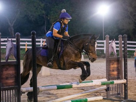 Ladies Night and Show Jumping