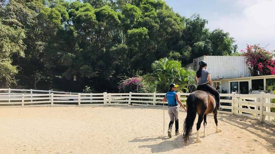 Private riding lesson