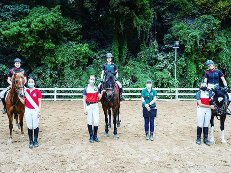 Dressage Anywhere, Pony Club test and Interschools competition