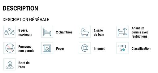 Chalet à louer Le cocooning description
