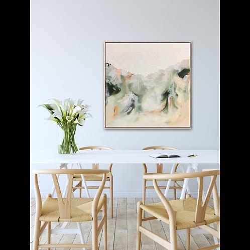 Light & love - 79cm x 79cm - Framed acrylic on stretched canvas