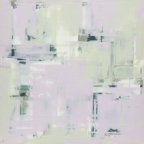 Surfaces XIV - 104cm x 104cm - Framed acrylic on stretched canvas